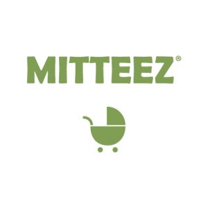 Logo of Mitteez, producers of organic and natural teething products for babies