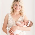 Cedar Falls Newborn Photography | Caroline's Birth Story and Quarantine Session