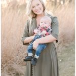 Cedar Falls Iowa Mommy & Me Photographer | Morgan and Baby Barrett